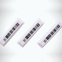 Etiqueta adesiva 1x4 com codigo de barras  1