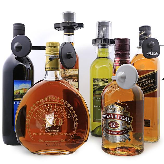 Etiqueta antifurto para garrafa